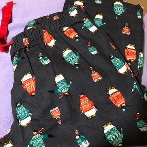 Old Navy Patterned Flannel Pajama Pants Size Large